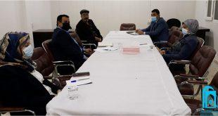 اللجنة العلمية في قسم اللغة العربية تعقد اجتماعها الأول