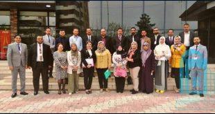 تدريسو كلية التربية الأساسية يشتركون في دورة تدريبية في محافظة السليمانية .