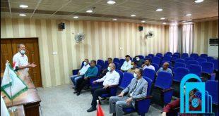 ندوة بعنوان( الدفاع المدني في كلية التربية الأساسية )